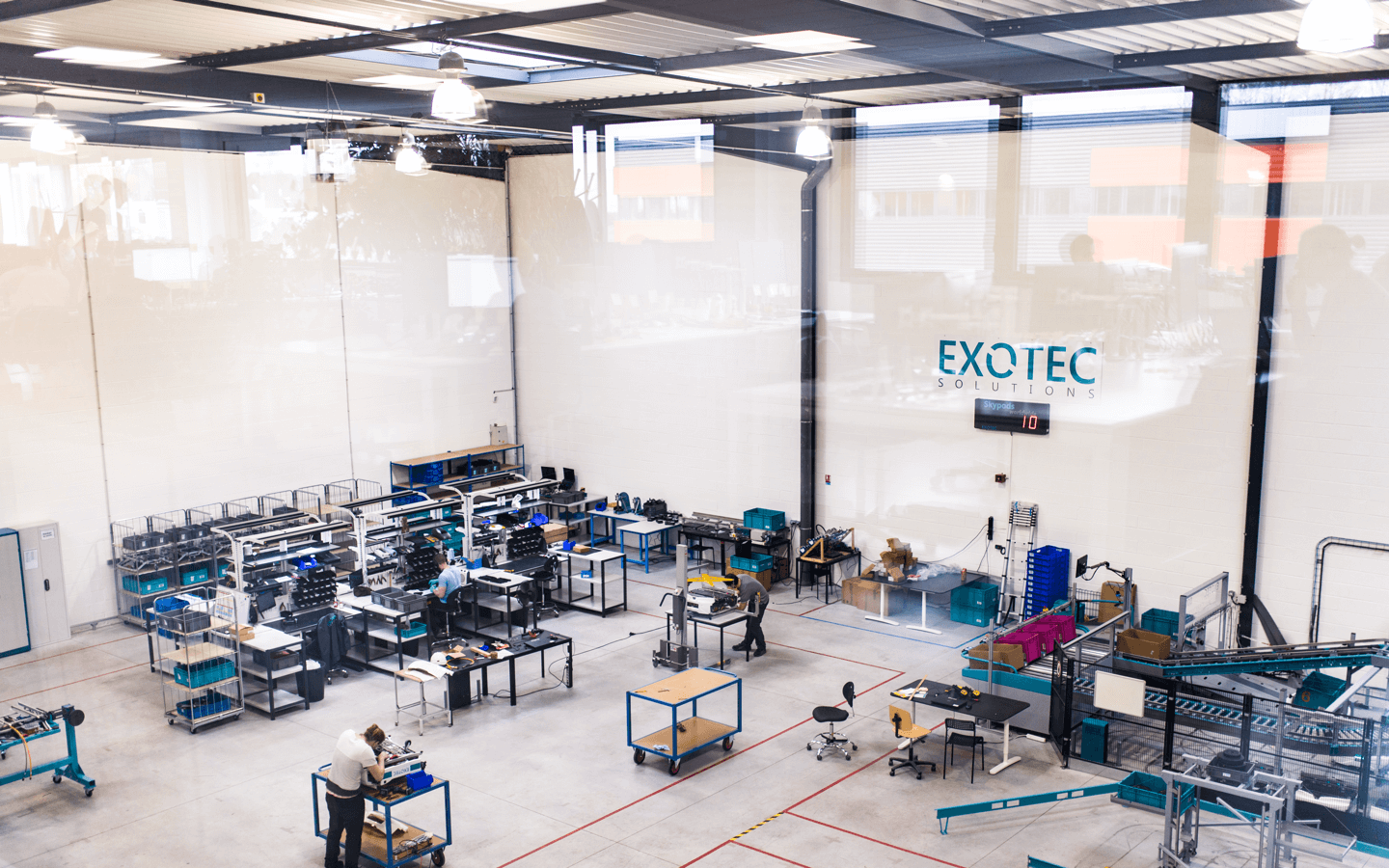 the robotics company Exotec